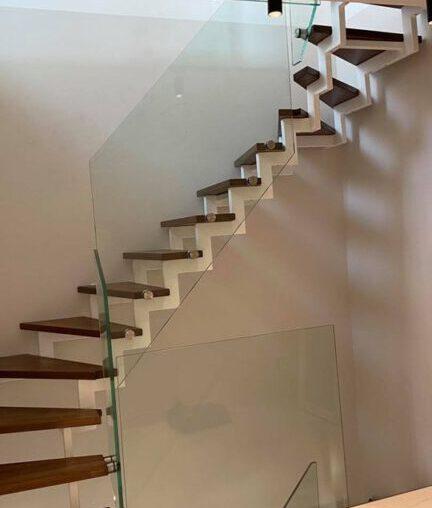 Treppengeländer aus Glas in Dortmund